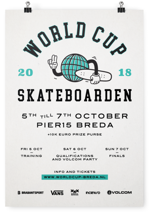 World Cup Skateboarden by Thunder and Bold